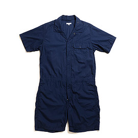 ENGINEERED GARMENTS - Combi Suit-Superfine Poplin-Dk.Navy