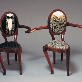 ThreeElementsStudios - Dancing Chairs - Sculpture