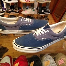 "vans - 「<used>90's vans ERA grey/blue""made in USA"" size:US15(33cm) 5800yen」完売"