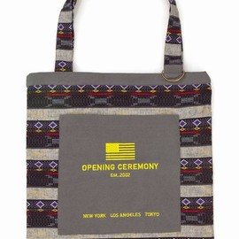 Opening Ceremony - jacquard tote bag