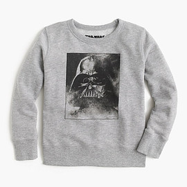 "J.CREW - STAR WARS FOR CREWCUTS GLOW-IN-THE-DARK ""WE CAN RULE THE GALAXY"" SWEATSHIRT"