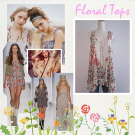 Free People - Floral Tops