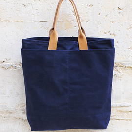 The Good Flock - Waxed Canvas Tokyo Bag Navy