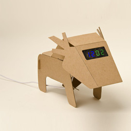 Craft Zoo - Clock -deer-