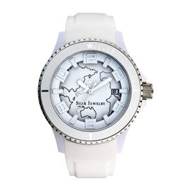 STAR JEWERY - WHITE EARTH WATCH