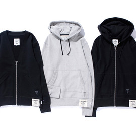 STUSSY - Deluxe x Reigning Champ Capsule Collection