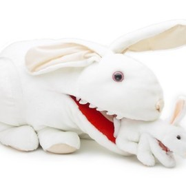 Toy Vault - Giant Killer Rabbit Plush from Monty Python and the Holy Grail