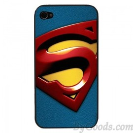 Steel Superman Close-Up Phone Case For IPhone 4/4s/5