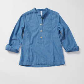 MHL. - ROUGH CHAMBRAY P/O SHIRT