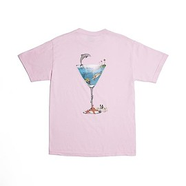 ALLTIMERS - TROPICAL FANTASY TEE PINK