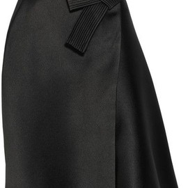 Lanvin - Satin Bow Skirt