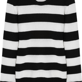 Equipment - Shane striped cashmere sweater