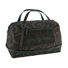 patagonia - Planing Duffel Bag 55L, Tiger Tracks Camo: Ink Black (TOIB)