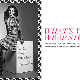 "DIANE von FURSTENBERG - Tag ""What's your DVF wrap dress story?"""