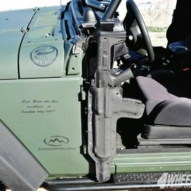 Kydex rifle scabbard - for the Jeep Board and Gun Board (Nice)