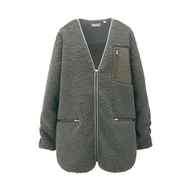 UNIQLO UNDERCOVER - UU Bulky Fleece Long Sleeve Jacket