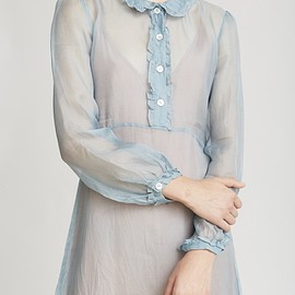 CARAMEL - Opal Woman Dress, Sky Grey - Dresses - Woman