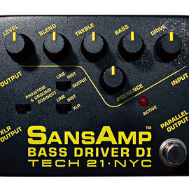 TECH 21 - SansAmp Bass Driver DI