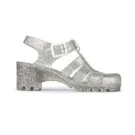 JUJU - chunky heeled 'Babe'Jelly Shoes