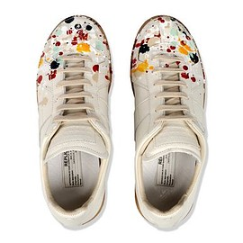 Maison Martin Margiela - Paint Splatter Low Top Sneaker 2015SS