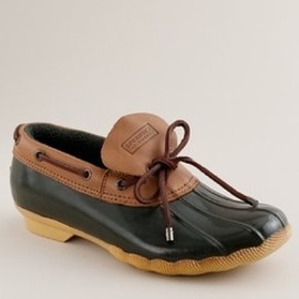SPERRY - FOR J.CREW RAIN SHOES