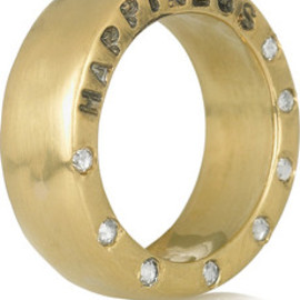 Aurora Lopez Mejia - 18 karat gold diamond ring