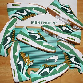 NIKE, Small Sanctuary - Air Max 1 - Menthol 1 Custom