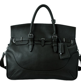 PELLE MORBIDA - Boston bag large