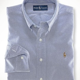Polo Ralph Lauren  - Custom-Fit Premier Oxford Blue