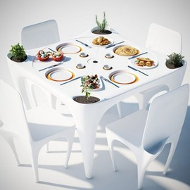 Bye Bye Wind Table Design by Marco Marotto and Paola Olivia Marotto