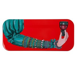 Fornasetti - Gass col red トレー