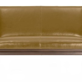Crate and Barrel - Cavett Loveseat Leather