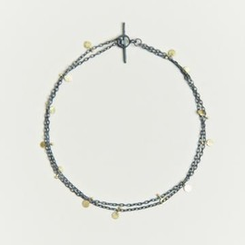 Sia Taylor - Sia Taylor Women's Oxidised Silver Double Seed Bracelet