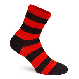 Rapha - Brevet Socks ( Orange / Black )