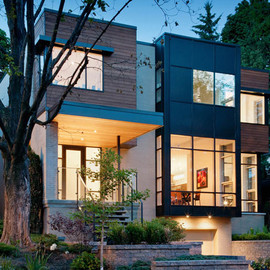 Christopher Simmonds Architect Inc. - contemporary gallery style home in Ottawa's urban core