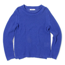 nonnative - ROVER SWEATER - C/L MIX WAFFLE