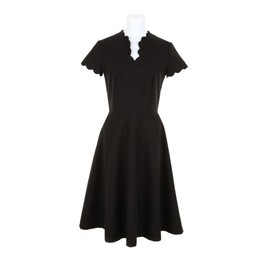 Olympia Le-Tan - 13ss Dress in cotton and elastane, V neckline, short sleeves, back zip