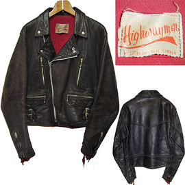 HIGHWAYMAN - Highwayman Manila 60's Motorcycle Jacket (ビンテージ) ハイウェイマン マニラ