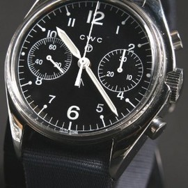 CWC - 1970 remake mechanical chronograph