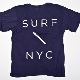 SATURDAYS SURF NYC - Surf Slash T-Shirt (Navy)