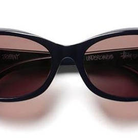 "STUSSY - STUSSY(GLASSES)""JOHNNY"" model for UNDERCOVER"