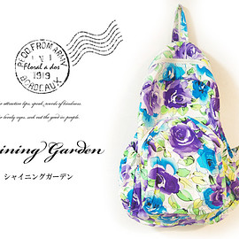 Floral a dos - Floral a dos  リュックサック(バックパック)サイドポケット付 シャイニングガーデン