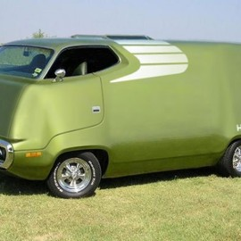 Plymouth - Road Runner Van 1971
