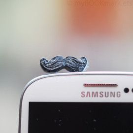 MyBookmark - Mustache phone accessory