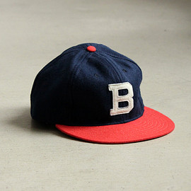 Ebbets Field Flannels - 6PANEL WOOL CAP [1949 BROOKLYN BUSHWICKS]