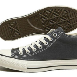 CONVERSE - All Star Canvas Mid / Gray