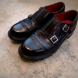 REGAL Shoe & Co. - Double Monk Strap Shoes