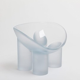 friedman benda - Roly-Poly Chair Water/ Faye Toogood