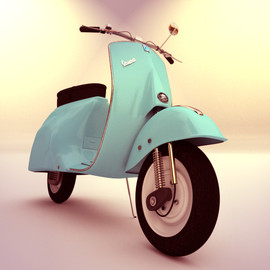 Vespa - mint green