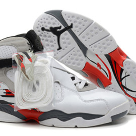 Weekend Pick Ups: Bugs Bunny Michael Jordan 8 White Grey and Red Sneakers On Sale